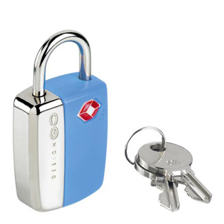Go Travel Glo Travel Sentry Lock - Blue