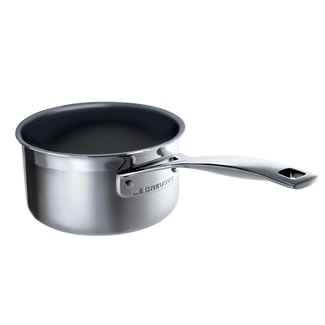 Le Creuset 3PLY 14CM Stainless Steel Milk Pan - Non Stick