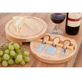 Entertaining Style 3 Piece Cheese Set