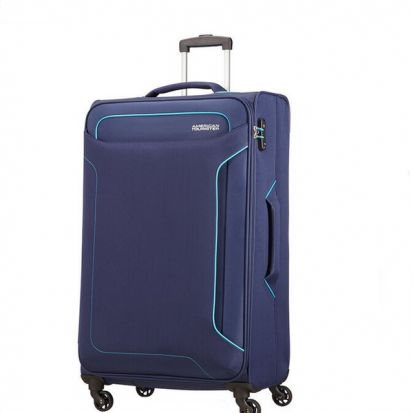 American Tourister Holiday Heat Spinner 79cm Case Navy