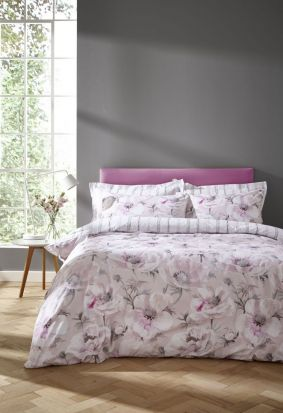Bianca Arctic Poppy Blush Duvet Cover Set - Single