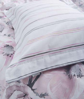 Bianca Arctic Poppy Blush Oxford Pillowcase