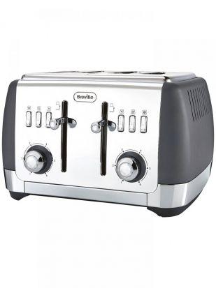 Breville Strata Luminere 4 Slice Toaster - Matt Grey