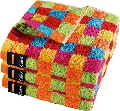Cawo Lifestyle Karo Bright - Bath Towel