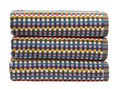 Christy Carnaby Stripe Bath Towel - Multi