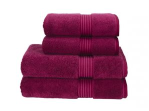 Christy Supreme Hygro Hand Towel - Raspberry