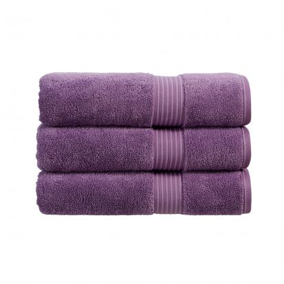 Christy Supreme Hygro Towelling Bath Mat - Orchid