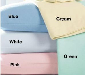 Cozynites Cream Flannelette Sheet Set – 4FT