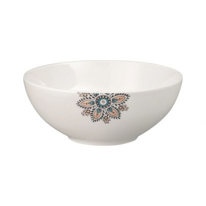 Denby Monsoon Mandala Cereal Bowl