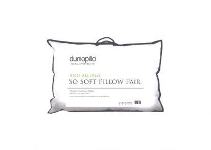 Dunlopillo Anti-Allergy So Soft Pillow Pair