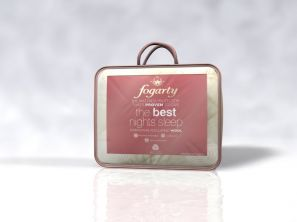 Fogarty Natural Wool Filled Mattress Protector Single