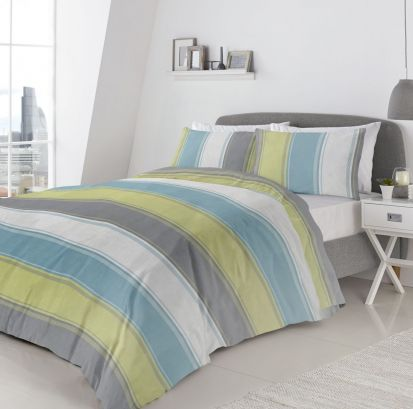 Fusion Betley Green Duvet Cover Set - King
