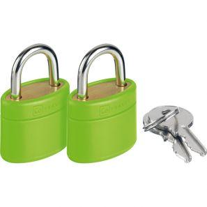 Go Travel Glo Locks - Green