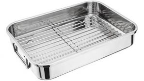 Judge 39cm Roasting Pan with Rack