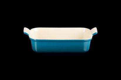 Le Creuset 26cm Deep Rectangle Dish - Deep Teal