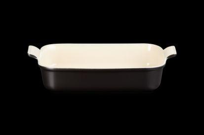 Le Creuset 32cm Deep Rectangle Dish - Satin Black