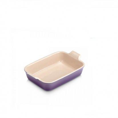 Le Creuset Stoneware 26cm Deep Rectangular Dish - Ultra Violet