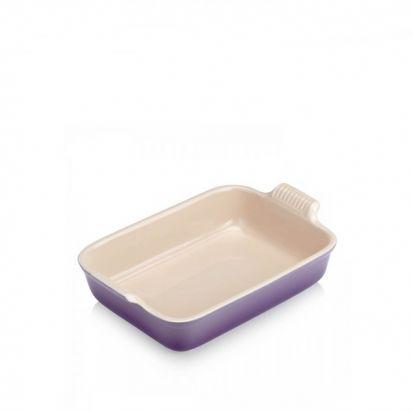 Le Creuset Stoneware 32cm Deep Rectangular Dish - Ultra Violet