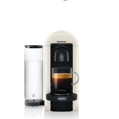 Nespresso Krups Vertuo Plus Coffee Machine - Cream