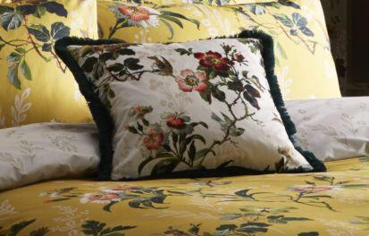 Oasis Leighton Ivory Cushion 43cm x 43cm