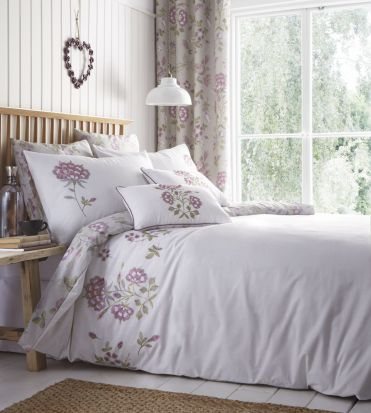 Portfolio Secret Garden Lavender Filled Square Cushion 56cm x 56cm