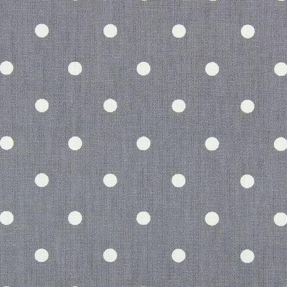 Prestigious Textiles PVC Oil Cloth - Full Stop Dark Grey