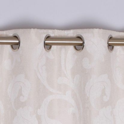 Rochelle Eyelet Curtains Ivory 66