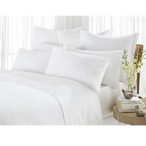 Sheridan 1000 Thread Count Double Fitted Sheet Vanilla