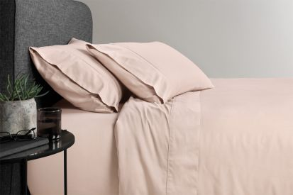 Sheridan 500 Thread Count Cotton Sateen Double Fitted Sheet Angel