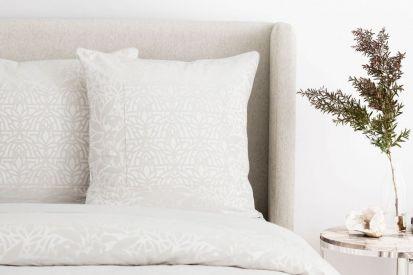 Sheridan Arland Reed European Single Pillowcase (65x65cm)