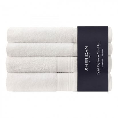 Sheridan Quick Dry Towel Bale - White