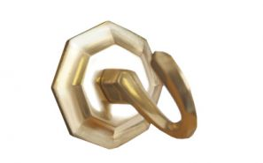 Starr Plain Brass Holdback Hooks