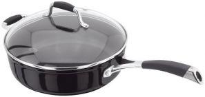 Stellar 3000 Black 28cm Saute Pan