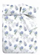 Bianca Botanical Cotton Duvet Cover Set - King 4