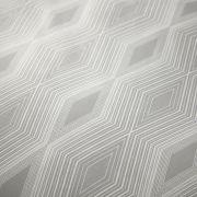 Bianca Cottonsoft Ziggurat Grey Duvet Cover Set - Superking 3
