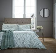 Fable Aviary Celadon Duvet Cover Set - Superking