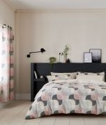Helena Springfield Arken Blush Duvet Cover Set - Superking
