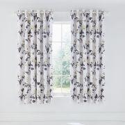 Helena Springfield Moda Peregrine Charcoal Lined Curtains
