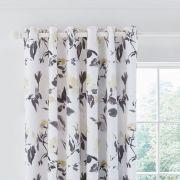 Helena Springfield Moda Peregrine Charcoal Lined Curtains 3