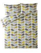 Orla Kiely Scribble Stem Housewife Pillowcase Pair Duckegg Seagrass 1