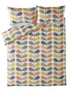 Orla Kiely Scribble Stem Housewife Pillowcase Pair Multi 1