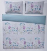 Portfolio Pasture Aqua Duvet Cover Set - Single 2
