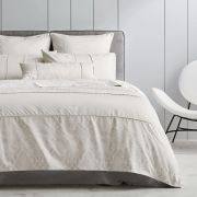 Sheridan Strickland Chalk Duvet Cover Set - Double